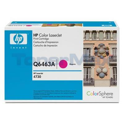 HP CLJ 4730 MFP TONER CART MAGENTA GOV